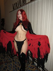 The Goblin Queen (BelleChere) Tags: atlanta costume geek cosplay harrypotter convention marvel dragoncon siriusblack madelynepryor goblinqueen yuleball bellatrixlestrange