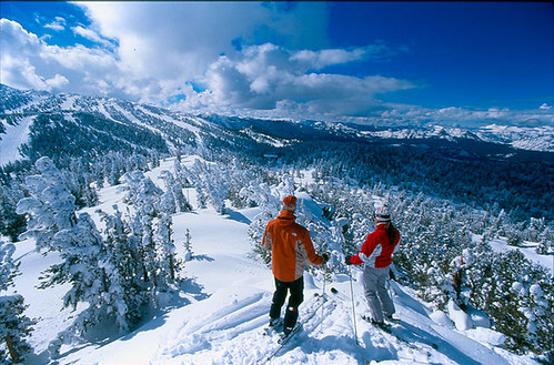 National forests provide about 60 percent of all ski areas in the United States.