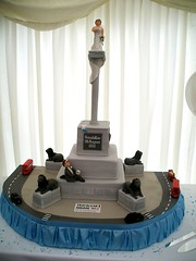 Trafalgar square Wedding Cake (Sharon Forbes) Tags: wedding cake square trafalgar