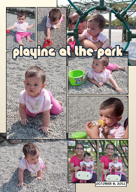 Josie at the Park