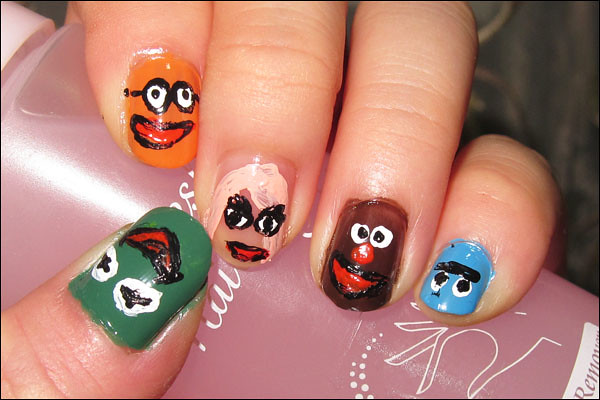 The Muppets Nail Art
