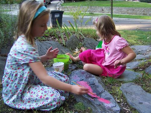 chalk painting
