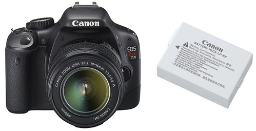 Canon T2i / 550D plus LP-E8 -- Battery Life