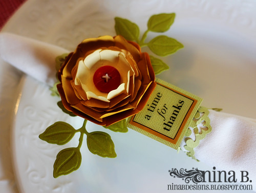 Place Setting Napkin Ring