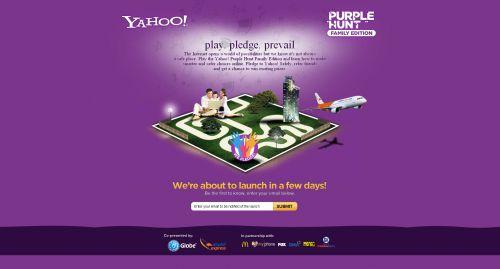 Purple Hunt Landing Page