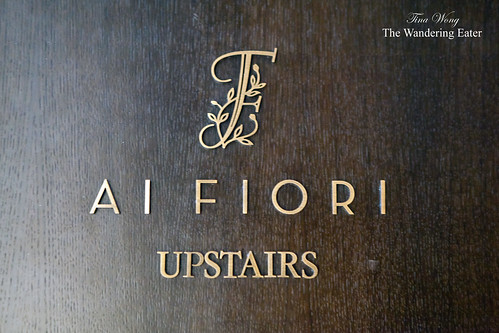 Ai Fiori, upstairs