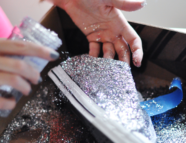 Glitter Sneaker DIY - 6