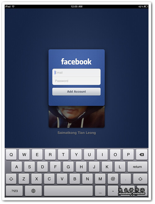 Add multiple Facebook accounts or profile