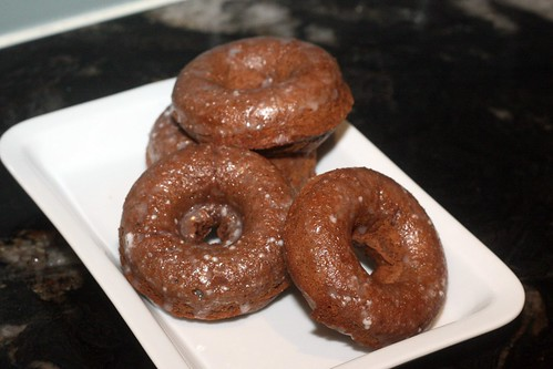 chocolate glazed doughnuts