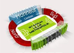 Stade Nord Lille Métropole Stadium Lille Metropole