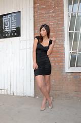 Img238075nx2 (veryamateurish) Tags: china beijing 798artdistrict model woman girl chinese asian mini dress legs miniskirt