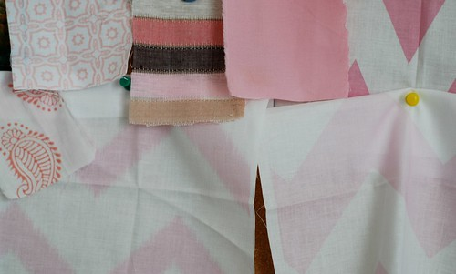 nursery fabric samples