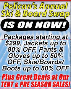Pelicans Annual Ski & board swap