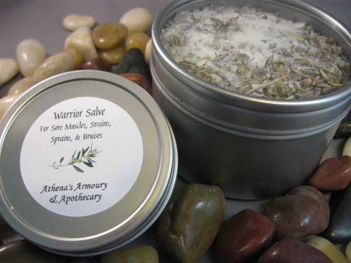 Warrior Salve and Foot Soak Relief Set