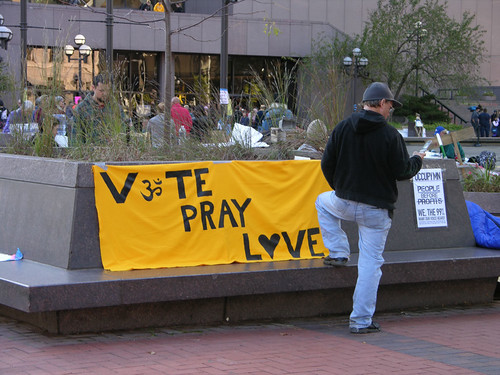vote pray love