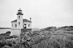 Light of the river (Damon D. Edwards Photography) Tags: lighthouse oregon coast nikon or pacificocean pacificnorthwest historical nautical pnw coquilleriver d7000