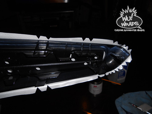 bmw e46 interior trim 3m di-noc ca-418 carbon fiber Wu! Wraps 3