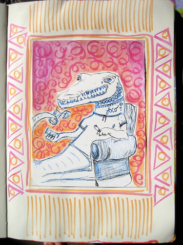 Moleskine Exchange Project: Alligator Collab with Ammon