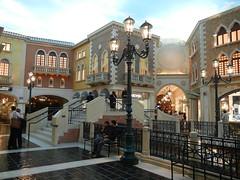 Indoor canal at The Venetian, Las Vegas