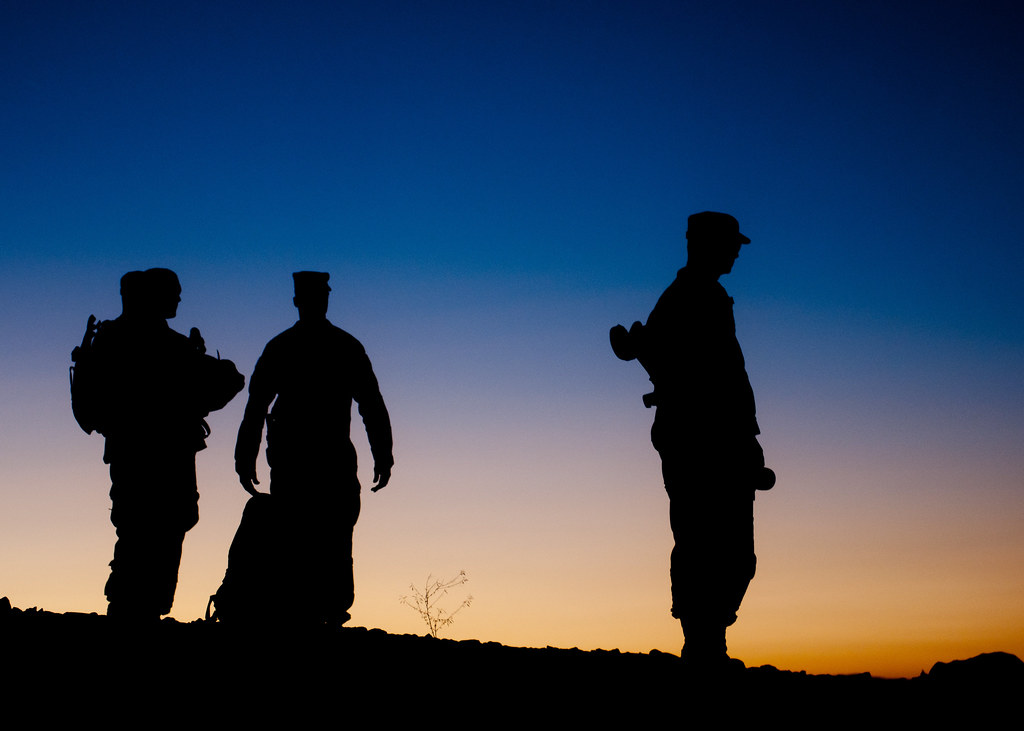 Sgt. Maj. of the Army Visits TF Blackhawk