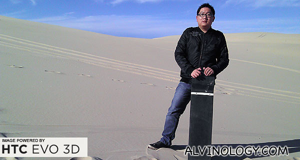 Me with my sandboard