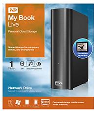 Western Digital My Book Live personal cloud storage