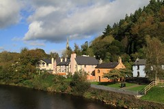Avoca Village (Chris*Bolton) Tags: autumn sky river landscape scenery village wicklow avoca supershot golddragon mywinners abigfave anawesomeshot absolutelystunningscapes