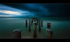 Into the darkness (scott masterton) Tags: old light usa seascape sunshine scott landscape pier long exposure state pentax florida jetty coastal naples derelict dilapidated fascinating masterton sigma1020mm nd400 vle ndx400 k200d