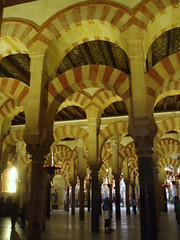 Endless Arches & Columns, Cordoba (Aidan McRae Thomson) Tags: spain cathedral mosque espana moorish cordoba mezquita andalusia islamic