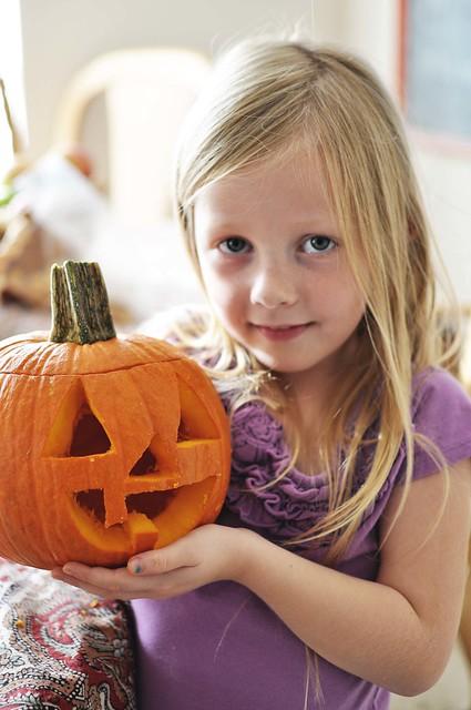 her pumpkin