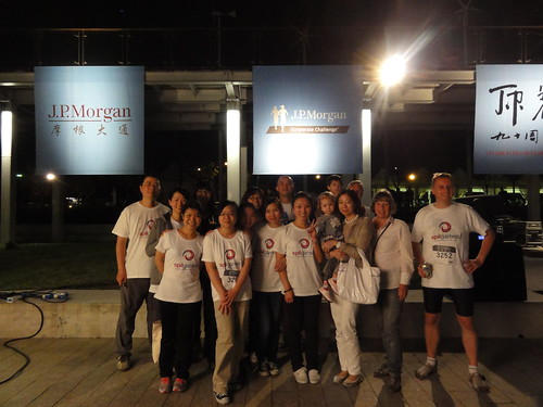 Spil Games Asia team at JP Morgan Corporate Challenge