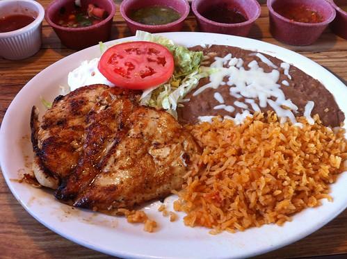 Lobito's Plate w/ Chicken