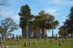 Church on a Hill (Starley Shelton) Tags: halloween church graveyard scary ghosts