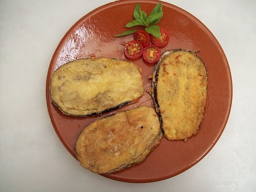 Berenjenas con queso