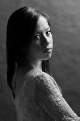 Project: Studio (KSquared_Photos) Tags: lighting portrait blackandwhite white black male guy girl female studio model rembrandt sidelight