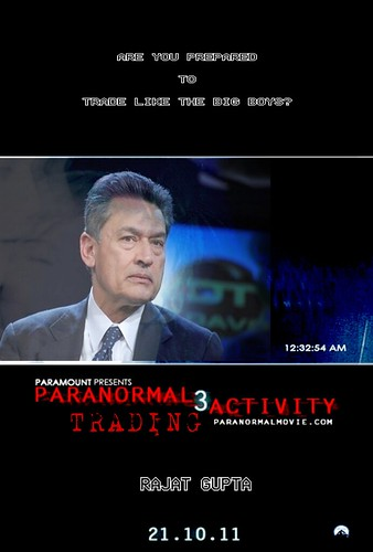 PARANORMAL TRADING ACTIVITY by Colonel Flick