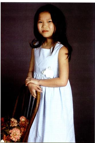 lael blue dress