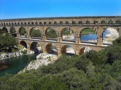 Pont du Gard: koupání pod římským stavitelským zázrakem