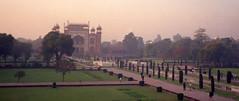 Taj Mahal - looking back