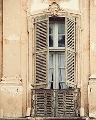 La Boheme (IrenaS) Tags: france window nice cotedazur peach shutters frenchriviera wwwirenesuchockicom