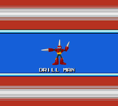 Drill Man Stage Selected (bruceywan) Tags: man toy robot lego dr 4 sprite cossack master iv photostream drill 027 mega wily megaman dwn drillman  drillbomb brucelowellcom
