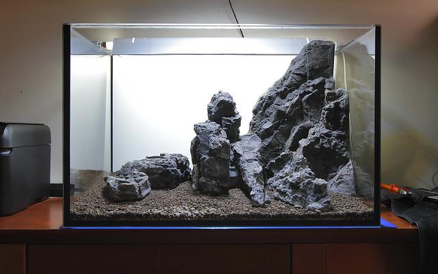 Rocks positioning