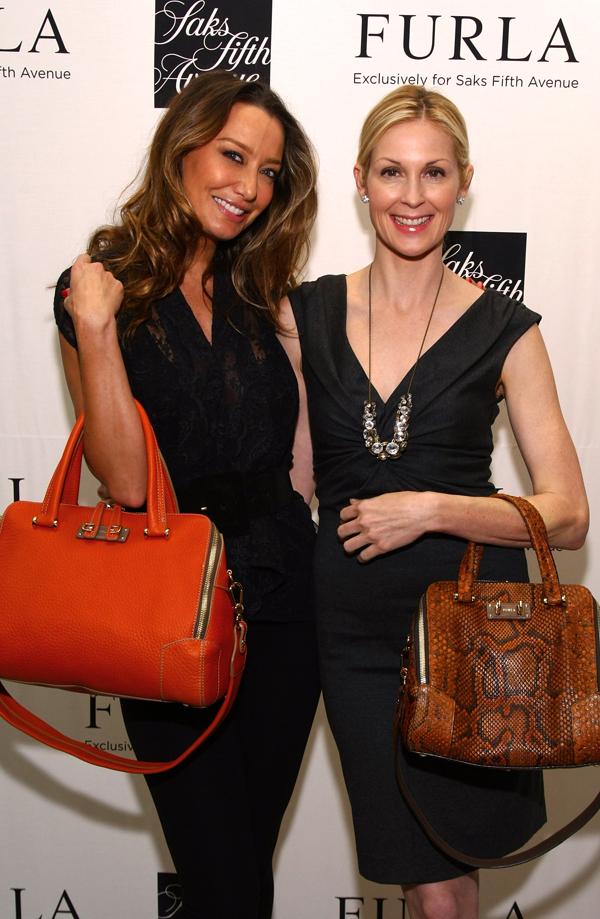 Actress-Kelly-Rutherford-and-DJ-Sky-Nellor-attend-Furla-Exclusively-for-Saks-Fifth-Avenue-launch-at-Saks-Fifth-Avenue-on-October-26,-2011-in-New-York-City