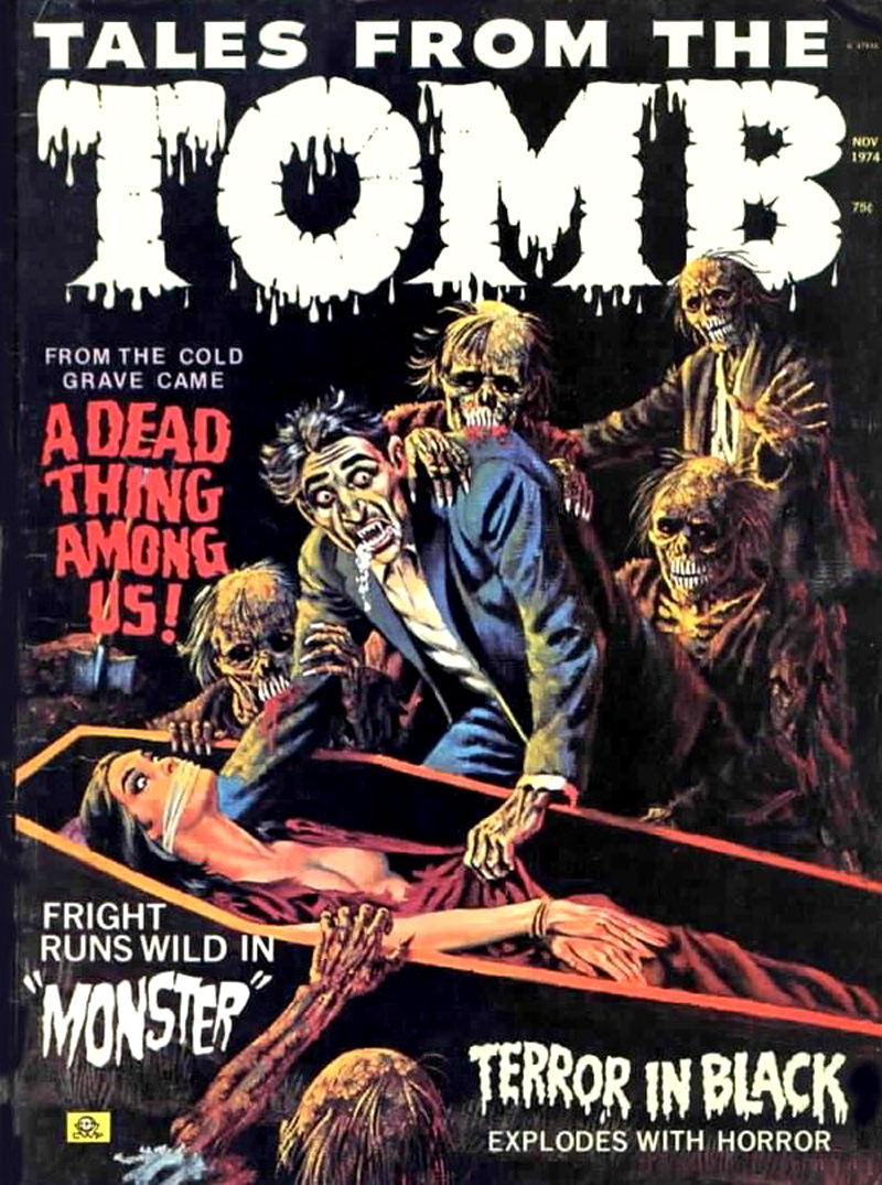 Tales from the Tomb - Vol. 6 #6 (Eerie Publications, 1974)