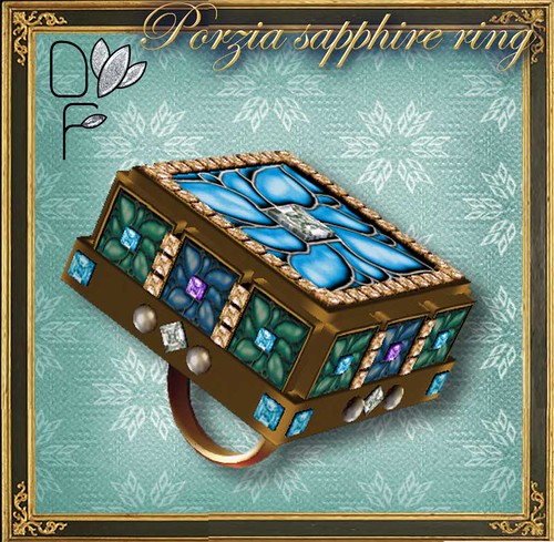 PORZIA sapphire ring