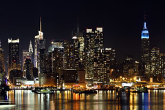 (miche11) Tags: nyc newyorkcity newyork skyline night thechallengefactory