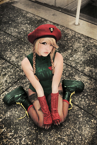 Street Fighter Cammy Cosplay