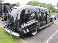 1941 Cadillac Eureka Hearse (splattergraphics) Tags: cadillac hearse 1941 carshow eureka laurelmd laurellionsclub