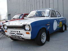 1973 Ford Escort 1100 Base (GoldScotland71) Tags: ford car mexico rally 1970s base 1973 basic escort 1100 mk1 ogb667m