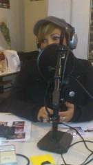 Ysa Ferrer dans les studio d'Otoradio